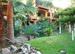 Garden at Margaritas Hotel