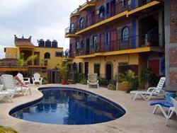 Pool at Old Mazatlan Inn