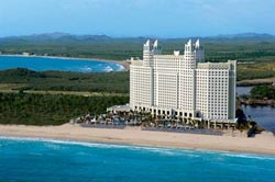 Airview of Riu Emerald Bay
