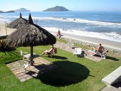 Beach at Villas El Rancho