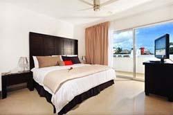 Bedroom at Bambu Suites
