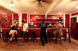 Bar at Hacienda Mariposa