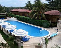 Pool at Petit Lafitte Hotel