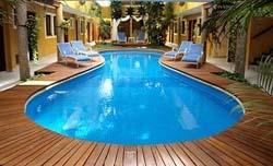Pool at Hotel Las Golondrinas