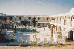 Swimming pool at the Playa Inn