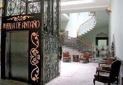 Lobby at Puebla de Antaño
