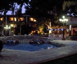 Pool at Marriott Real Puebla