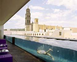 Pool at La Purificadora Hotel