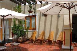 Patio at El Sueño Hotel & Spa