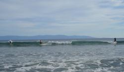 Surfing in Banderas Bay