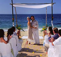 Beach Wedding in Banderas Bay