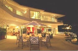 Terrace at Casa Yvonneka