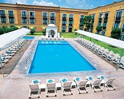 Pool at Fiesta Inn Queretaro