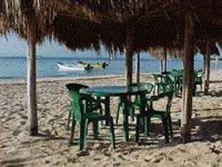 Beachside at Hotel Colibri