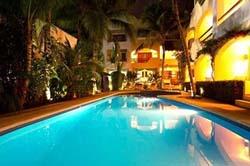 Pool at Riviera Caribe Maya