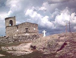 San Ignacio Church near Creel