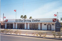 Streetview of El Mar Dive Shop