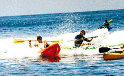 Kayaking - Surf at Costa Azul