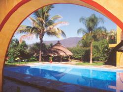 Pool at Mision Jalpan