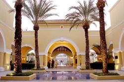 Entrance to Dreams Los Cabos