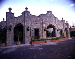 Entrance to Mision San Gil