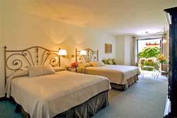 Bedroom at Hotel Casa Rosada