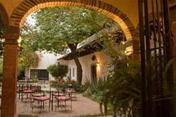 Patio at Hacienda El Santuario