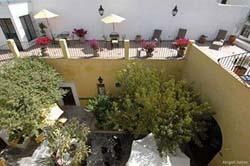 Sun Patio at Los Agaves Hotel