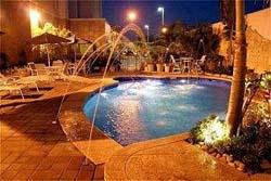 Pool - the Hampton Inn Tampico