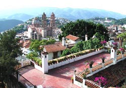 View of Taxco from Casa Palmas