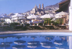 Taxco's view from the Pool