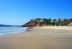 Beach at Punta Serena Villas