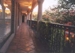 Veranda at Casa Campos