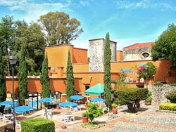 Courtyard- Mision Spa Tlaxcala