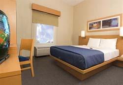 Bedroom at City Express Toluca