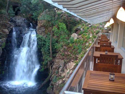 Waterfall at Mision Refugio